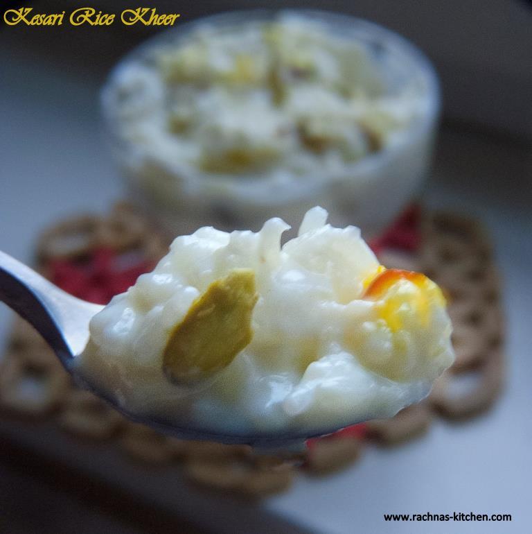 Kesari Rice Kheer