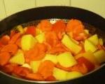 Steamed Vegetables for Veg Biryani