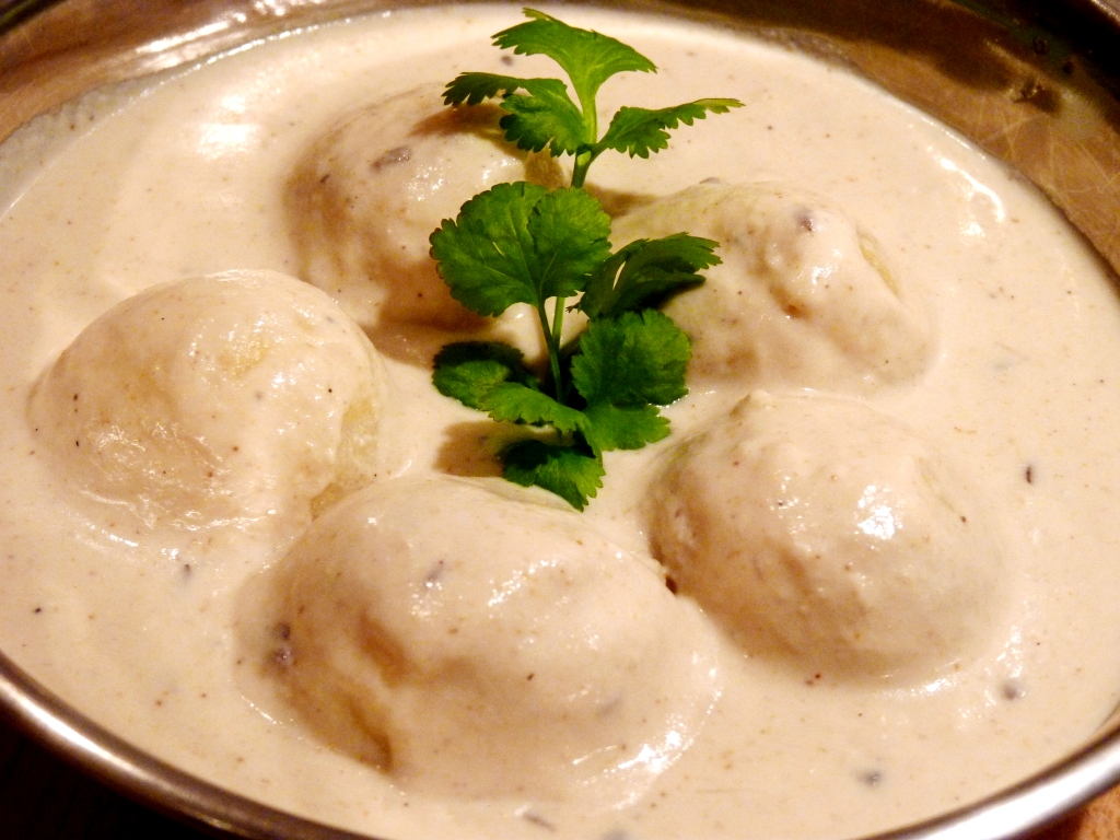Malai Kofta recipe white gravy