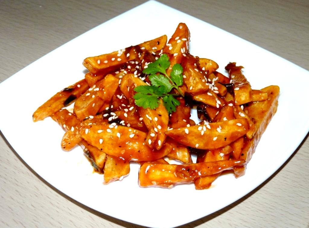 Honey Chili potato restaurant style