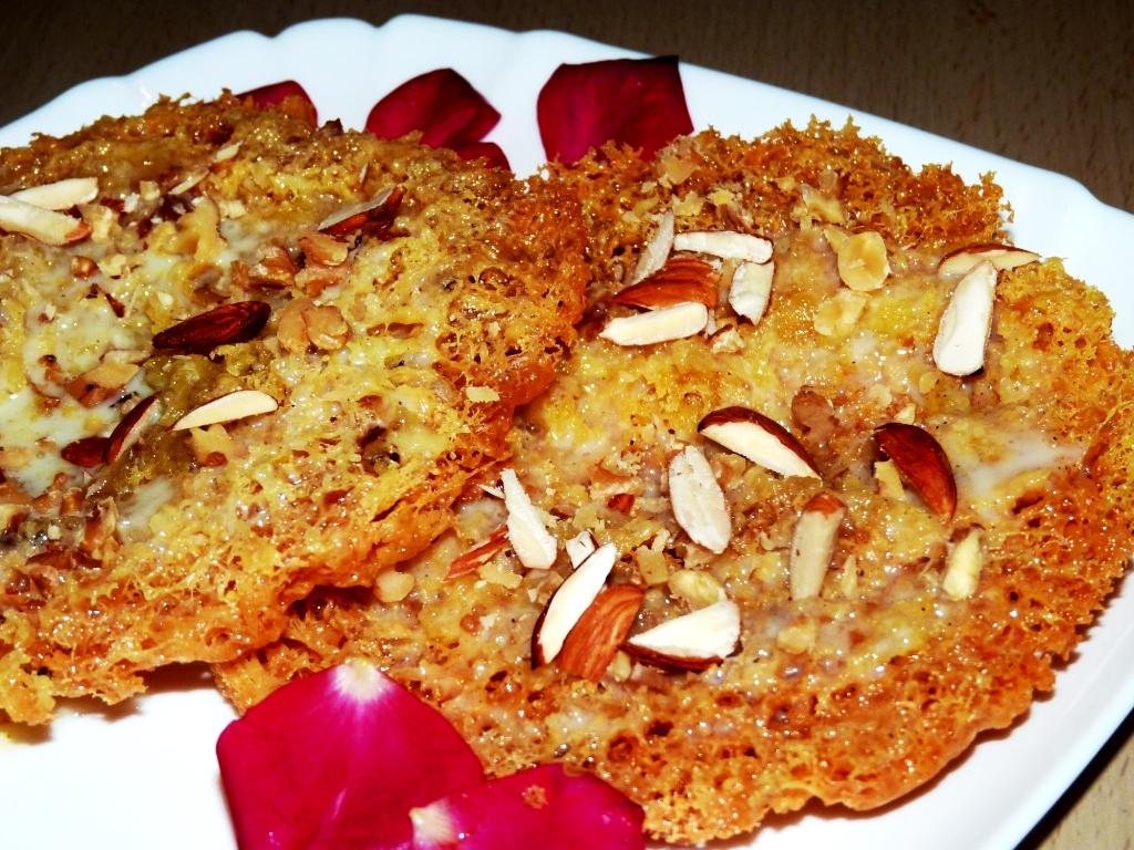 Delicious Rajasthani Ghevar Recipe