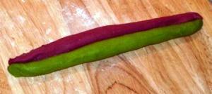 colourful paratha