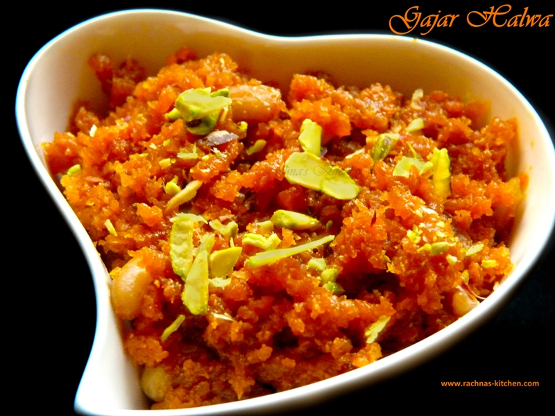 Gajar Halwa With Condensed Milk