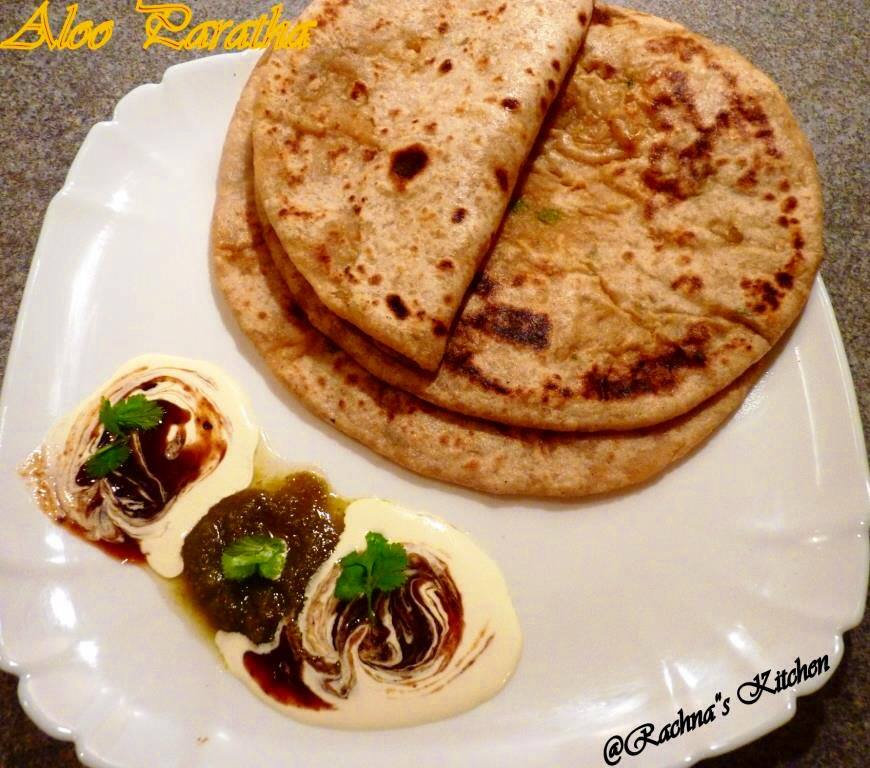 Aloo Paratha Recipe Step by Step Pictures