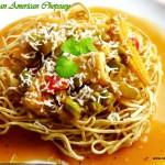 Vegetarian American Chopsuey