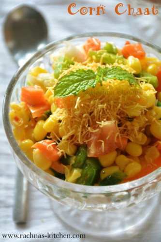 How to make masala corn