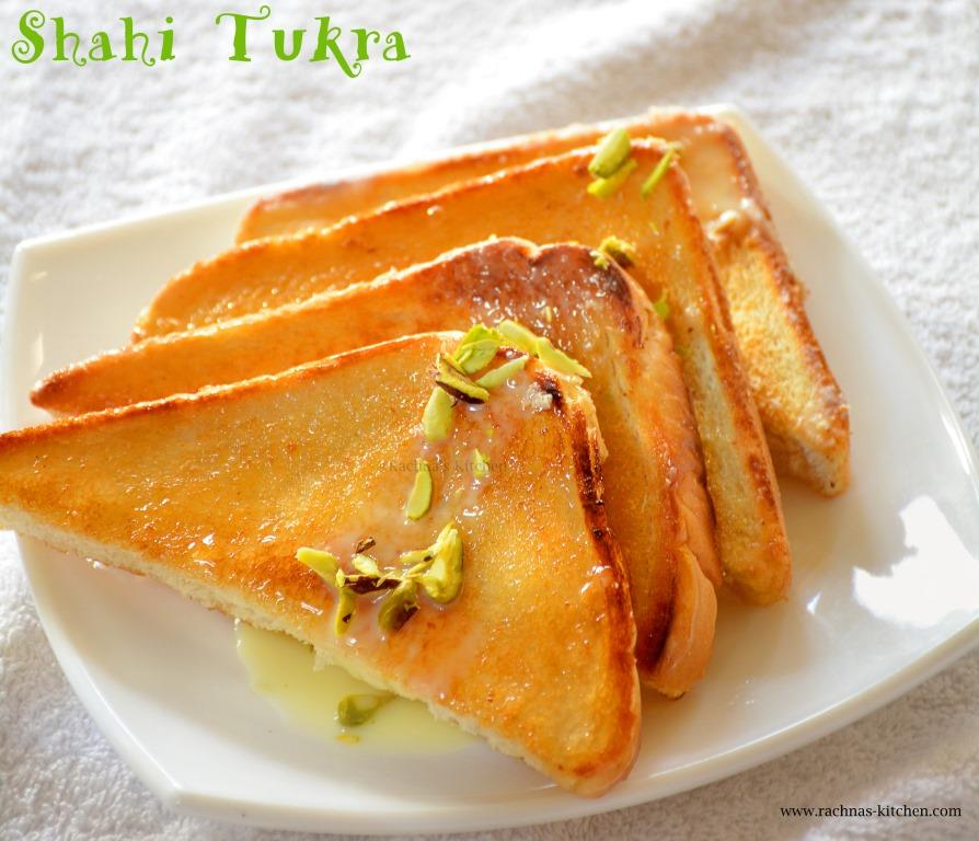 How to make shahi tukda with pistachios