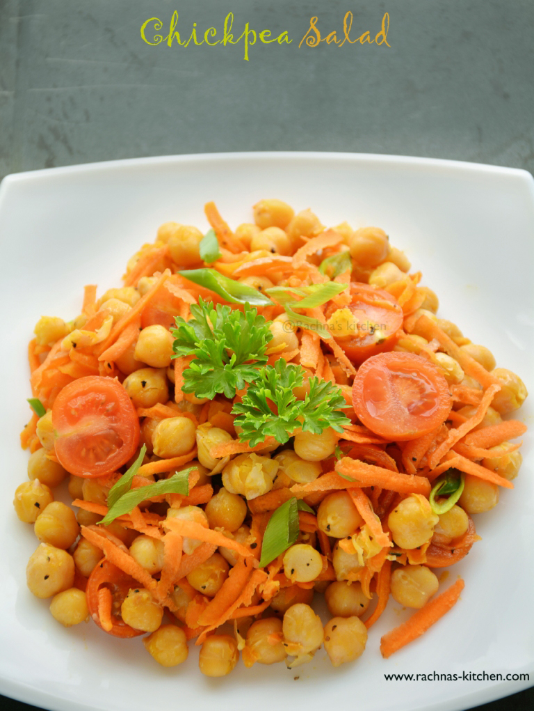 How to make chickpea salad recipe