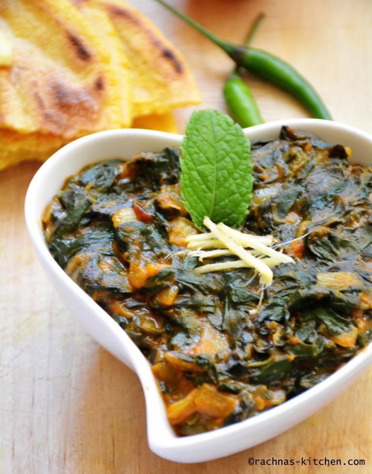 spinach saag recipe