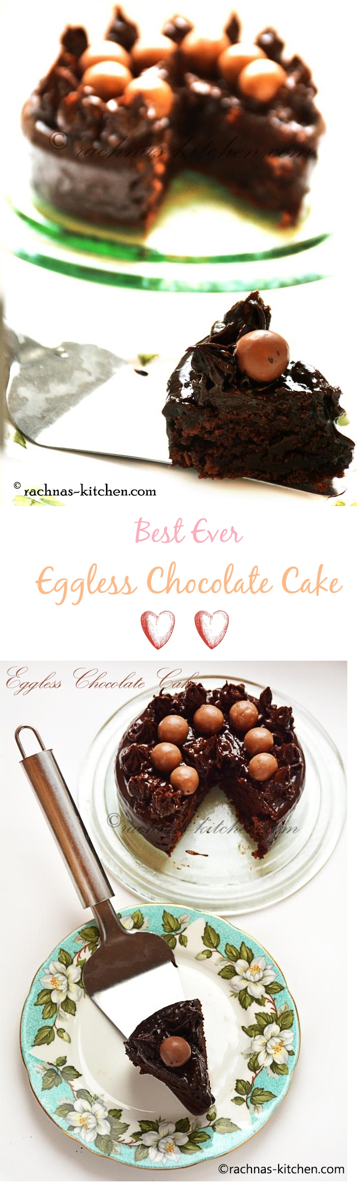 best ever eggless chocolate cake