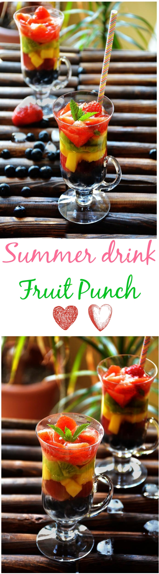 Homemade fruit punch recipe