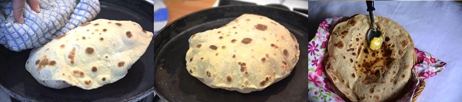 chapati step 7