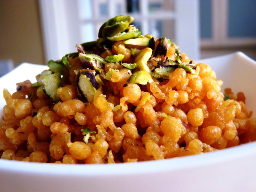 sweet boondi recipe without siever for raksha bandhan