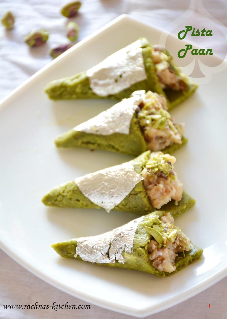 Pista paan recipe for raksha bandhan