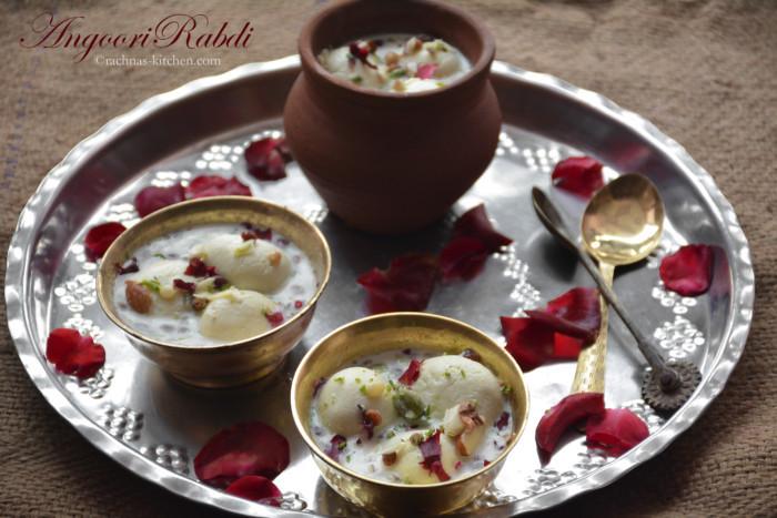 Angoori rabdi recipe