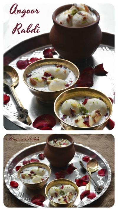 Angoor rabdi recipe