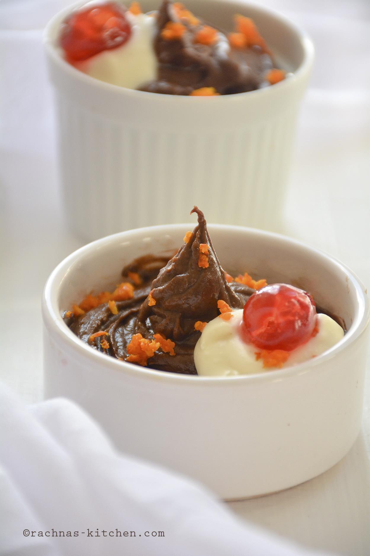 Chococlate orange mousse