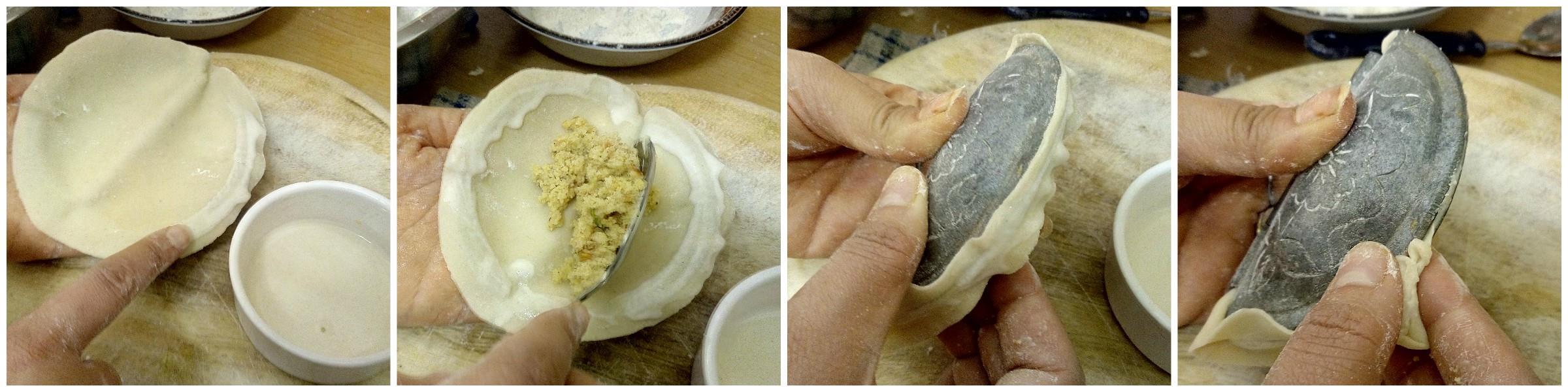gujiya recipe step 4