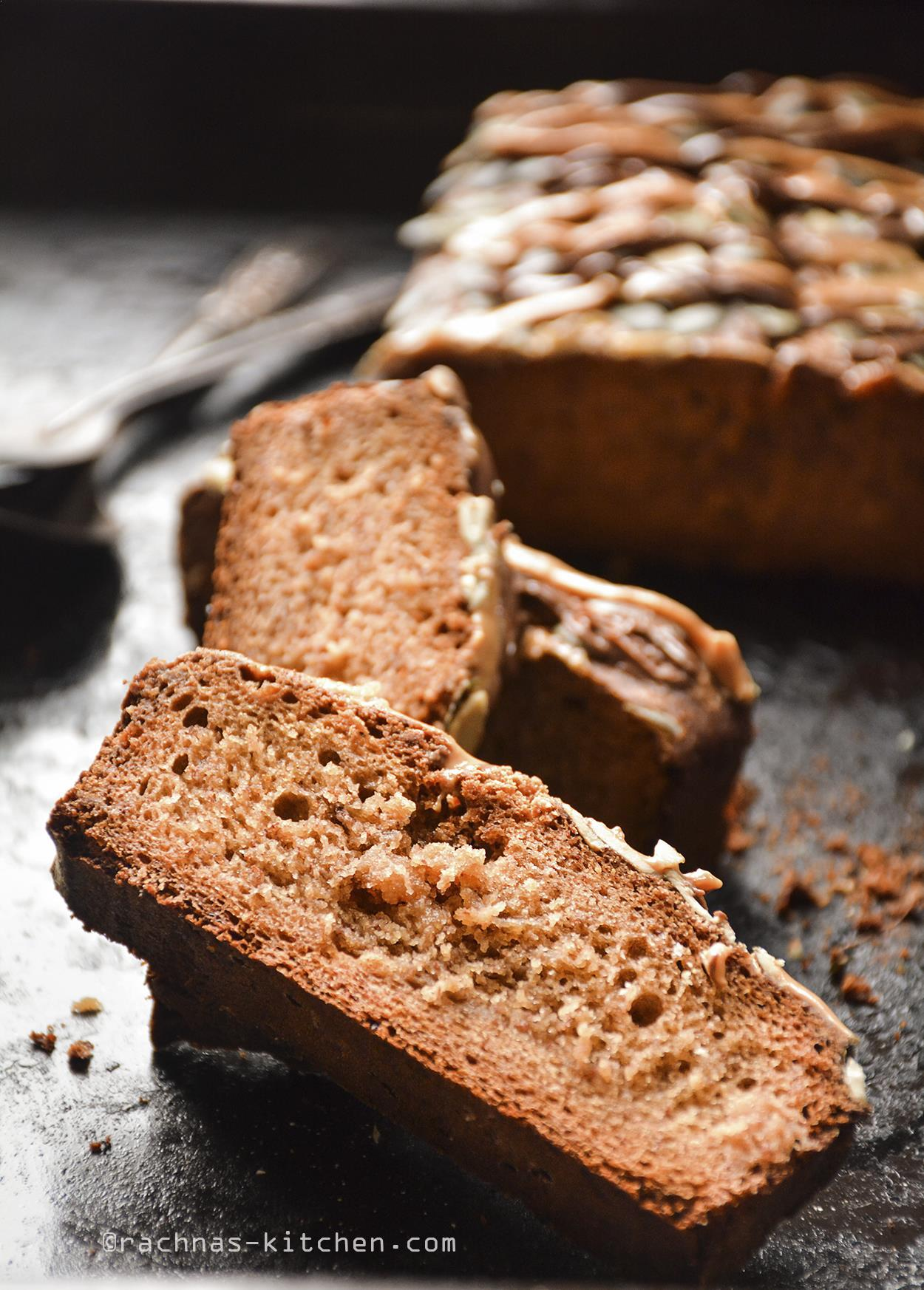 wholewheat banana bread recipe