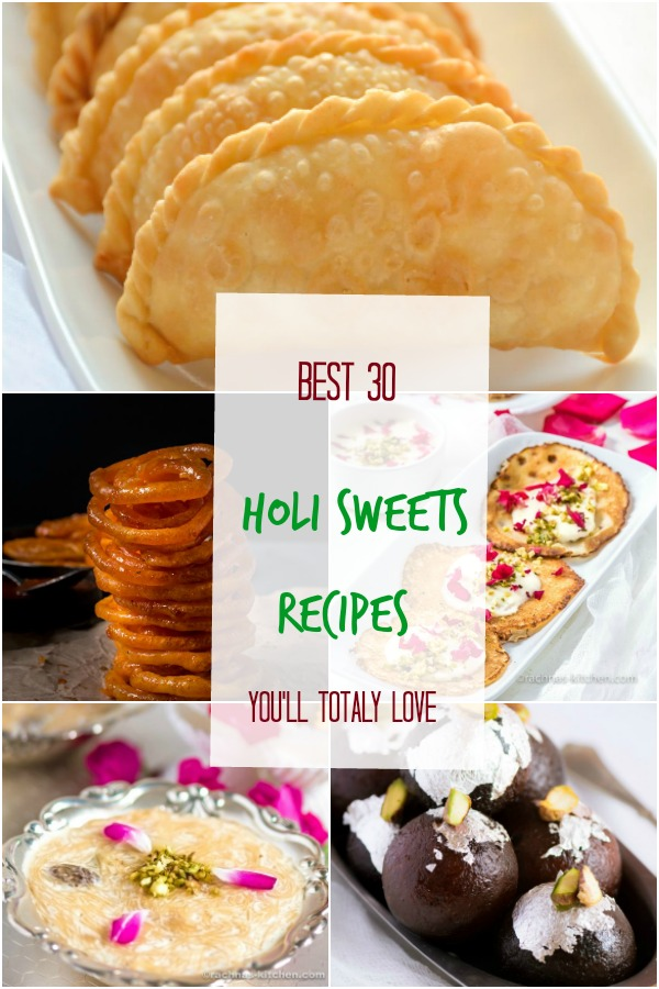 holi sweets recipes
