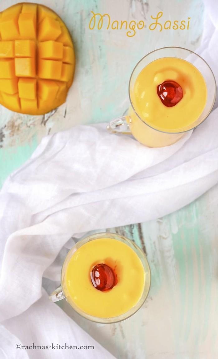 perfect mango lassi recipe