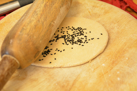 wholewheat naan recipe step12