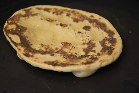 wholewheat naan recipe step17