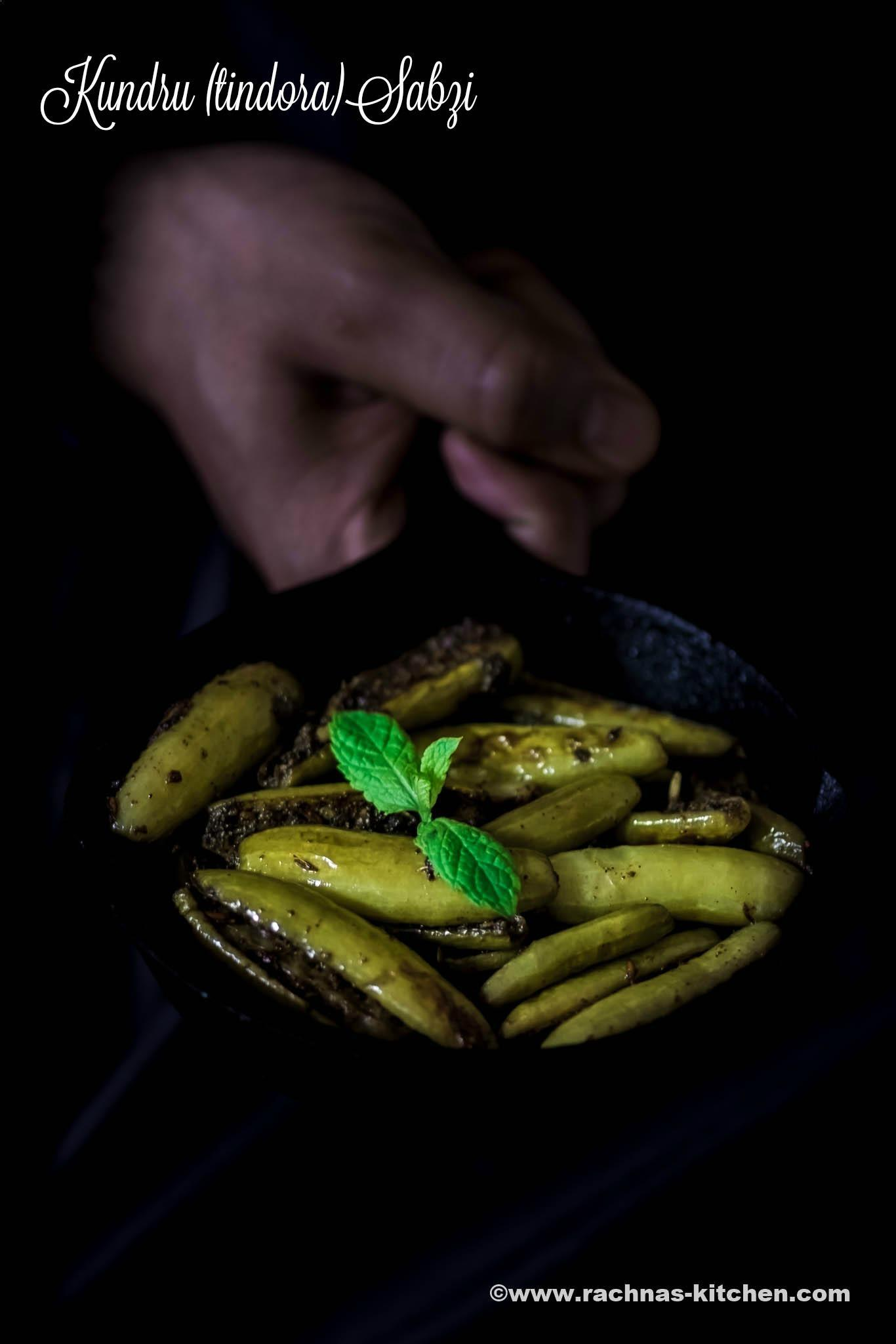 tindora fry recipe 4