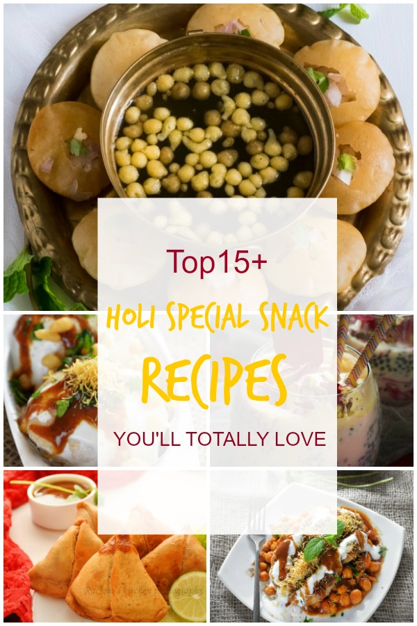 Holi special recipes