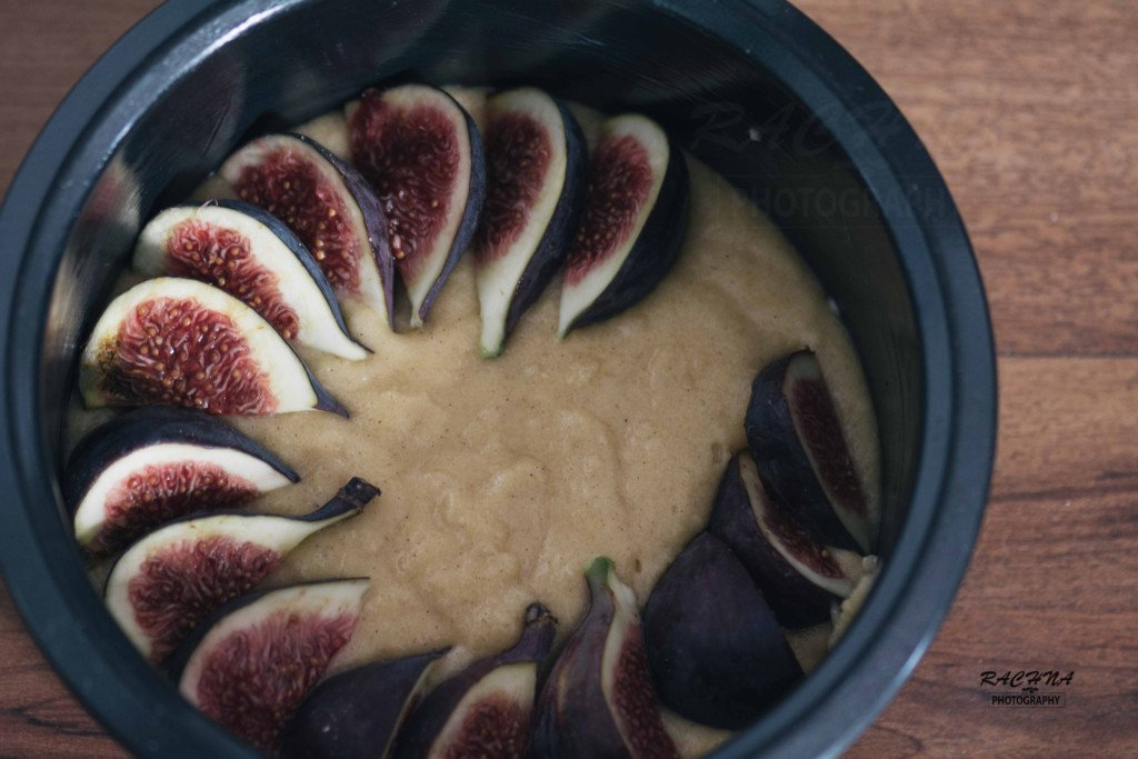 Figs and almond cake recipe 3