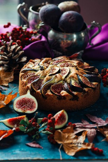 Figs and almond cake recipe 4