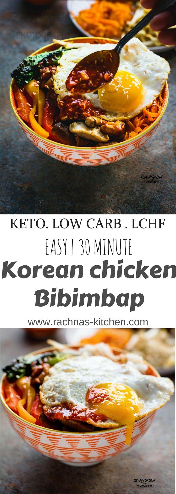 Korean chicken bibimbap pin